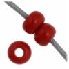 Czech Seedbead 11/0 Dark Red Opaque